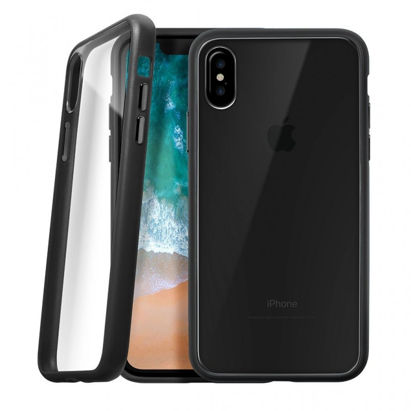 LAUT Accents iPhone X/Xs Black/Clear - 1