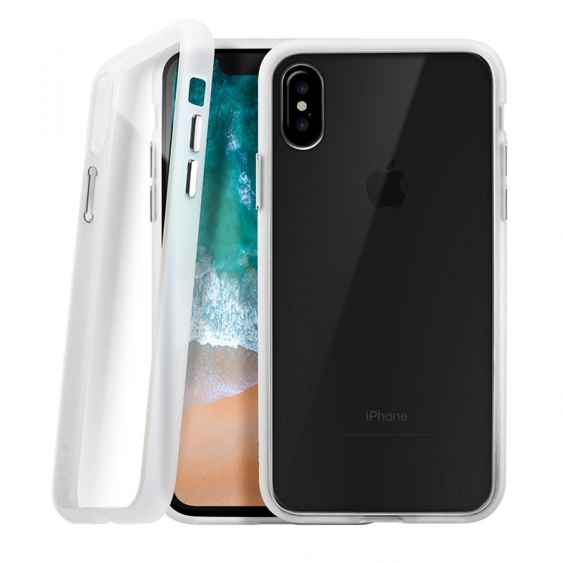 LAUT Accents iPhone X/Xs Crystal/Clear - 1