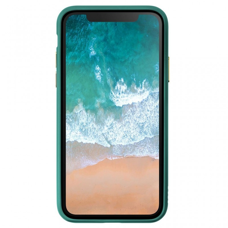 LAUT Accents iPhone X/Xs Emerald Green/Clear - 3