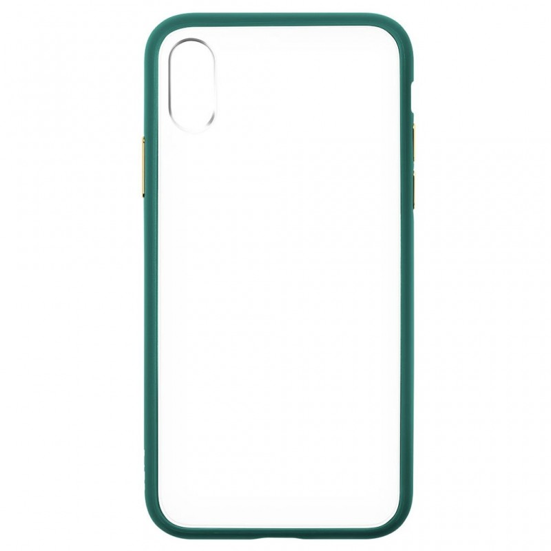 LAUT Accents iPhone X/Xs Emerald Green/Clear - 4