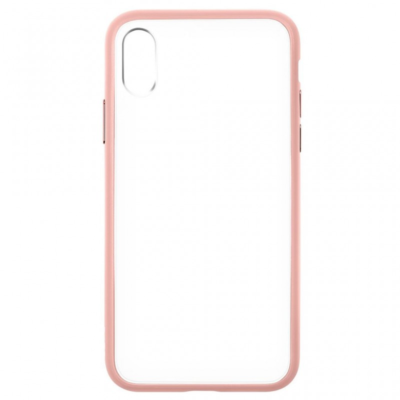LAUT Accents iPhone X/Xs Nude Pink/Clear - 4