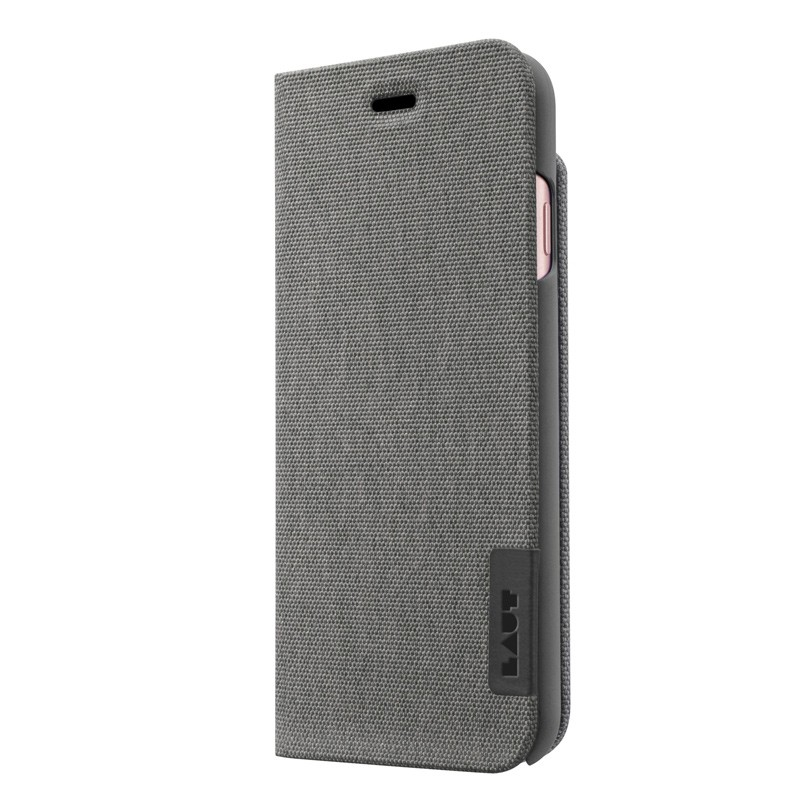 LAUT Apex Knit iPhone 7 Granite Grey 02