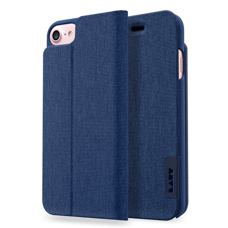 LAUT Apex Knit iPhone 7 Plus Blue 01