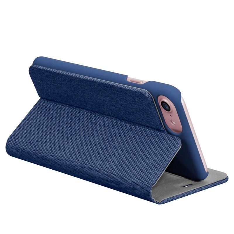LAUT Apex Knit iPhone 7 Plus Blue 08