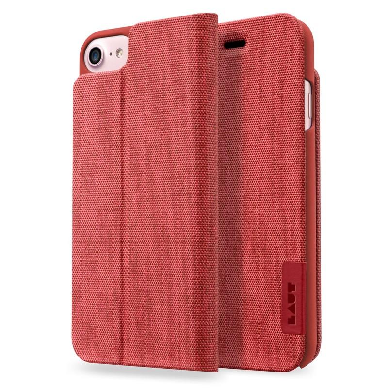 LAUT Apex Knit iPhone 7 Plus Red 01