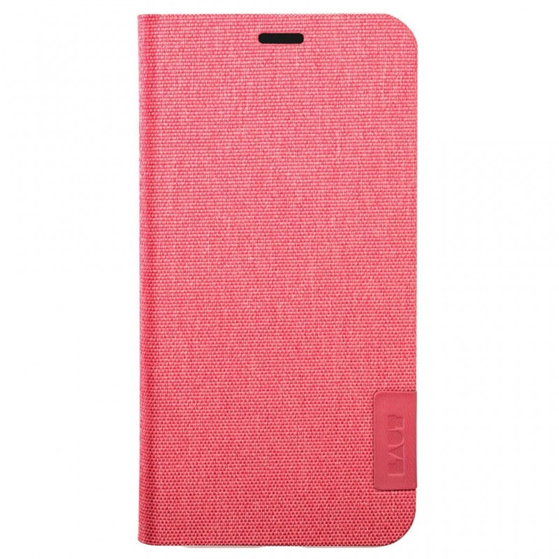 LAUT Apex Knit iPhone X/Xs Wallet Coral Pink - 2