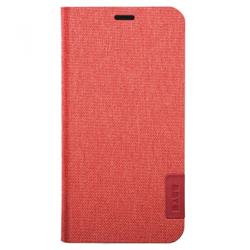 LAUT Apex Knit iPhone X/Xs Wallet Crimson Red - 2