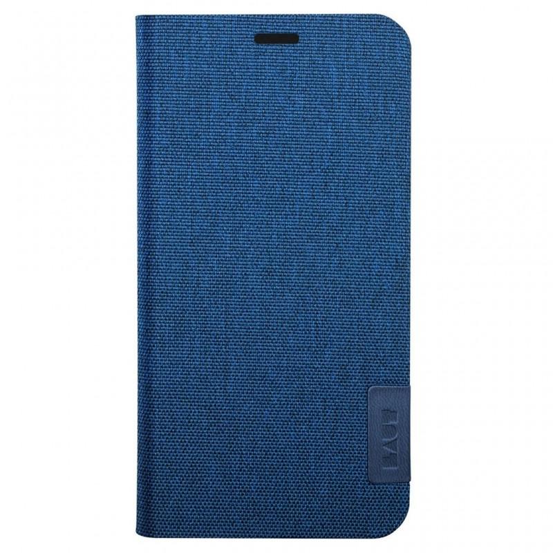 LAUT Apex Knit iPhone X/Xs Wallet Indigo Blue - 2