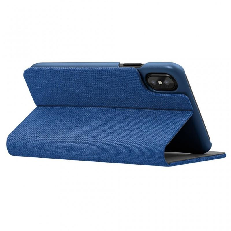 LAUT Apex Knit iPhone X/Xs Wallet Indigo Blue - 5