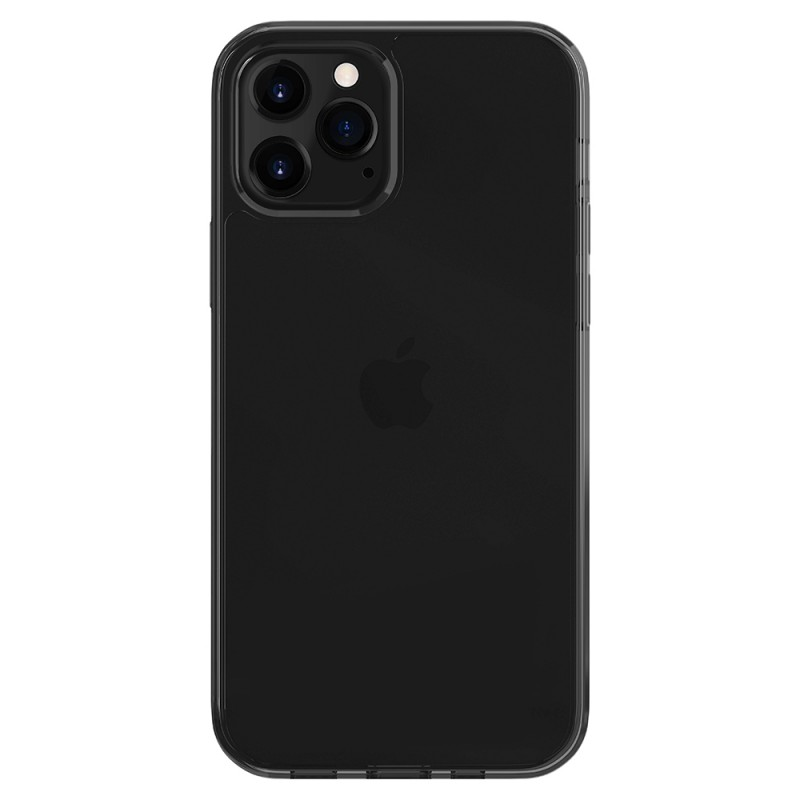 LAUT Crystal-X Necklace iPhone 12 Mini Hoesje Ultra Black - 1