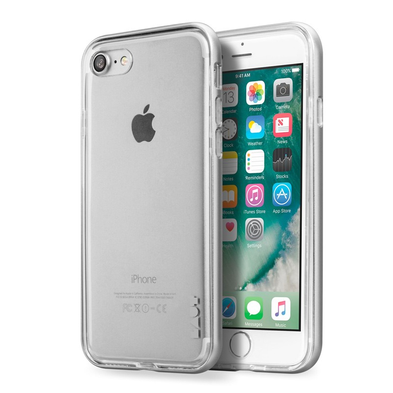 LAUT Exo Frame iPhone 7 Plus Silver 01