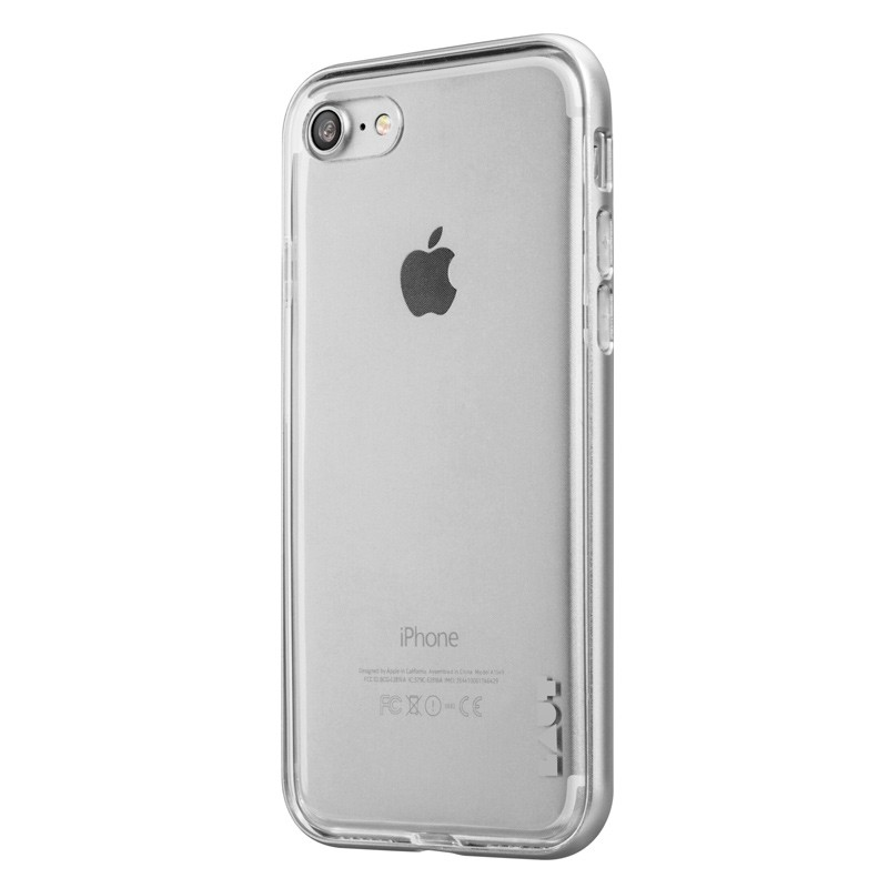 LAUT Exo Frame iPhone 7 Plus Silver 02