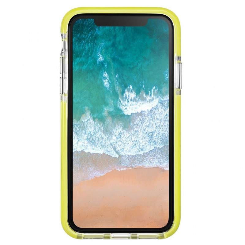 LAUT Fluro IMPKT Case iPhone X/Xs Yellow/Clear - 2
