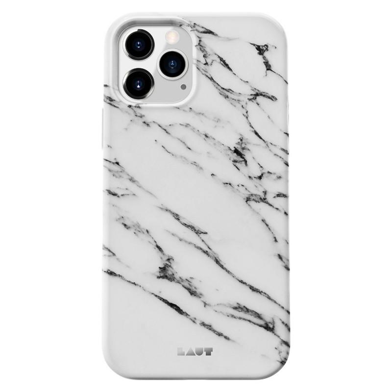 LAUT Huex Elements iPhone 12 / iPhone 12 Pro 6.1 Wit Marmer - 1