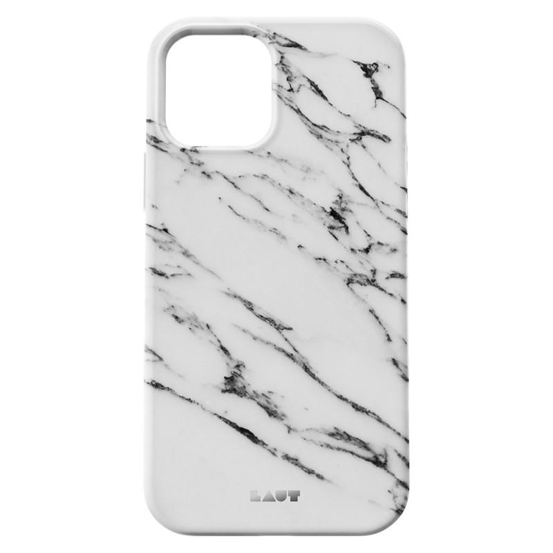 LAUT Huex Elements iPhone 12 / iPhone 12 Pro 6.1 Wit Marmer - 4
