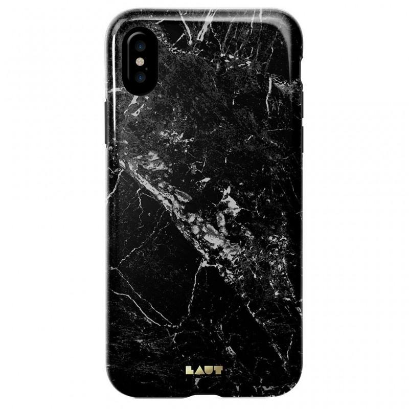 LAUT Huex Metallics iPhone X/Xs Black Marble - 2