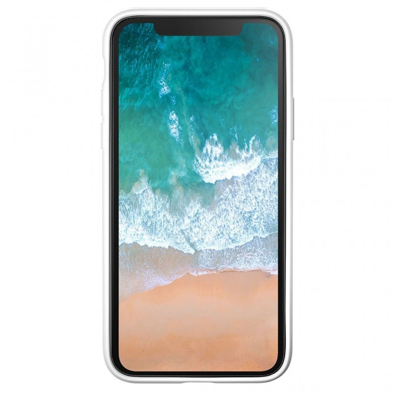 LAUT Huex Metallics iPhone X/Xs White Marble - 3