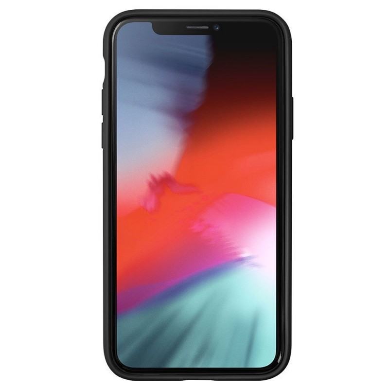 LAUT Huex Elements iPhone XR Hoesje Zwart Marmer 02