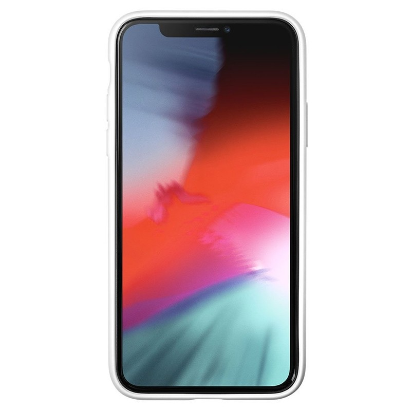 LAUT Huex-E iPhone XS Max Hoes Wit Marmer 02
