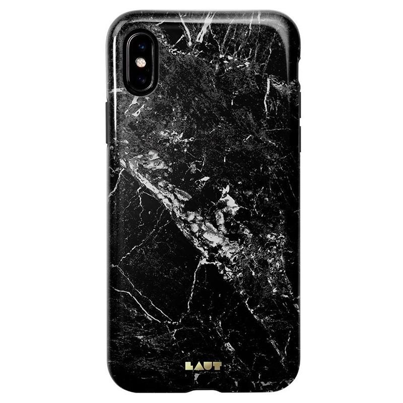 LAUT Huex-E iPhone XS Max Hoes Zwart Marmer 03