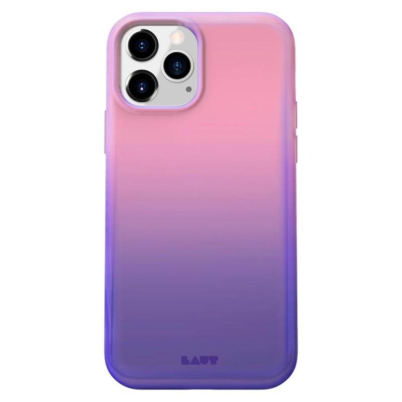 LAUT Huex Fade iPhone 12 Mini Hoesje Paars - 1