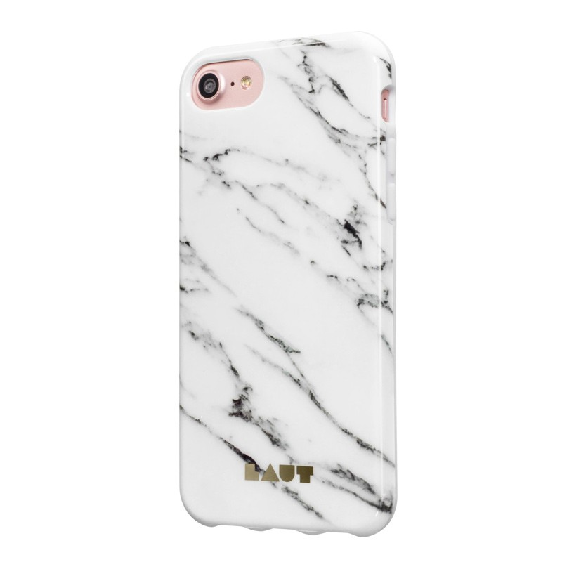 LAUT Huex Marble iPhone 7 Plus White Marble 02