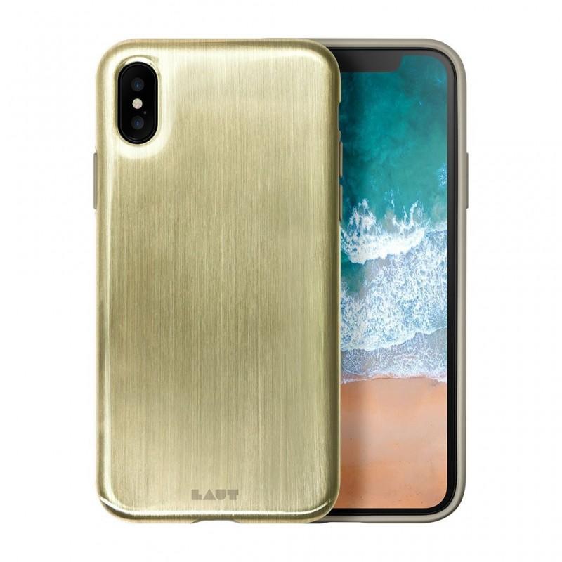 LAUT Huex Metallics iPhone X/Xs Gold - 1