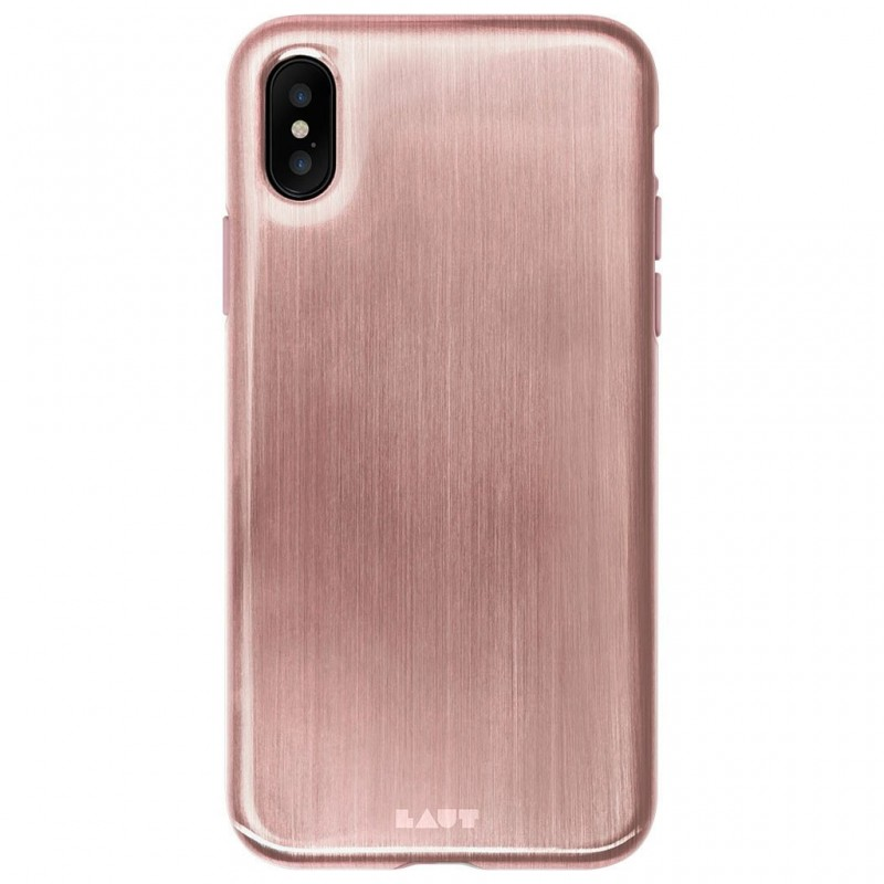 LAUT Huex Metallics iPhone X/Xs Rose Gold - 2