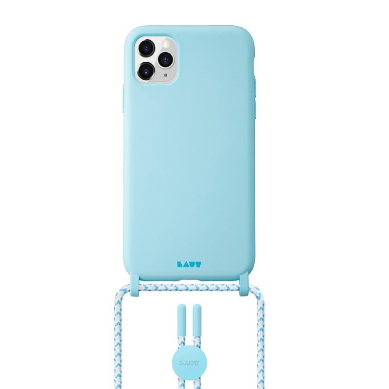 LAUT Huex Pastels Necklace iPhone 12 / iPhone 12 Pro 6.1 Blauw - 1