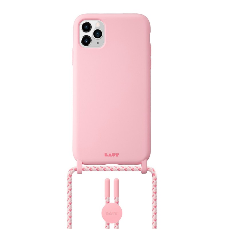 LAUT Huex Pastels Necklace iPhone 12 / iPhone 12 Pro 6.1 Roze - 1