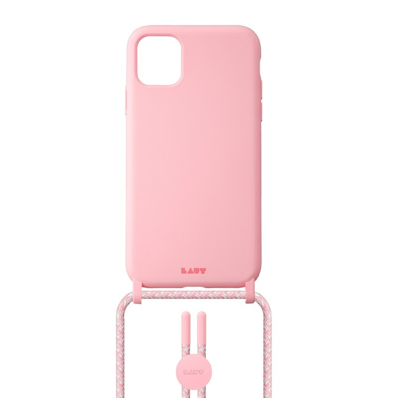 LAUT Huex Pastels Necklace iPhone 12 / iPhone 12 Pro 6.1 Roze - 2