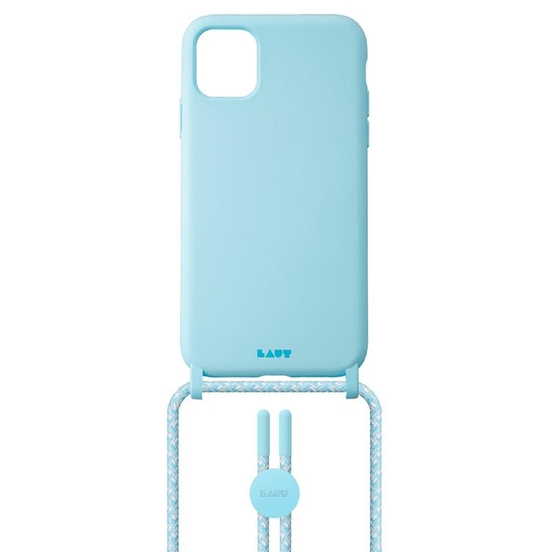 LAUT Pastels Necklace iPhone 12 Mini Blauw - 2