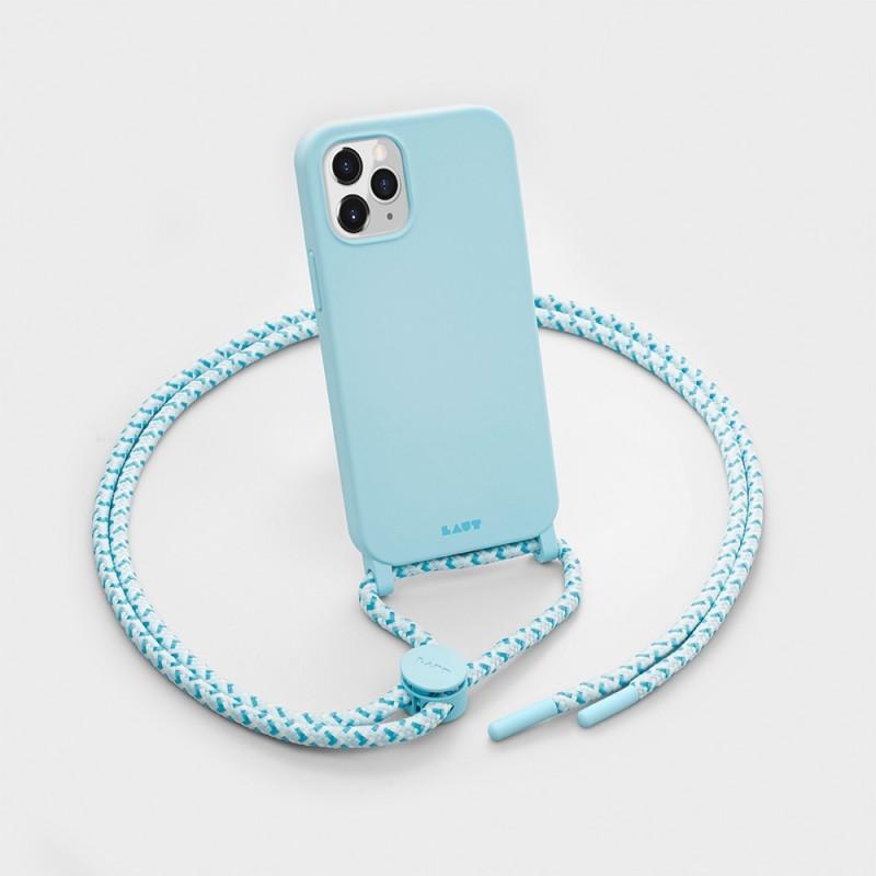 LAUT Pastels Necklace iPhone 12 Mini Blauw - 3