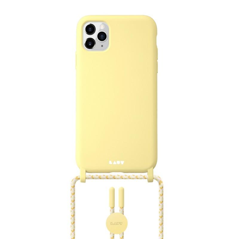 LAUT Pastels Necklace iPhone 12 Mini Geel - 1