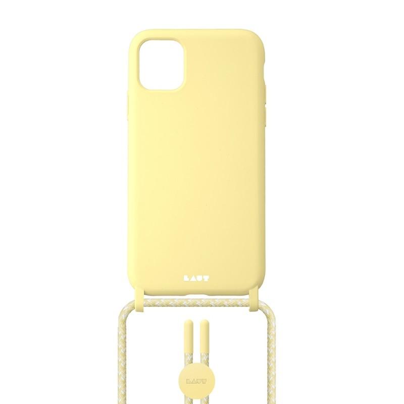 LAUT Pastels Necklace iPhone 12 Mini Geel - 2