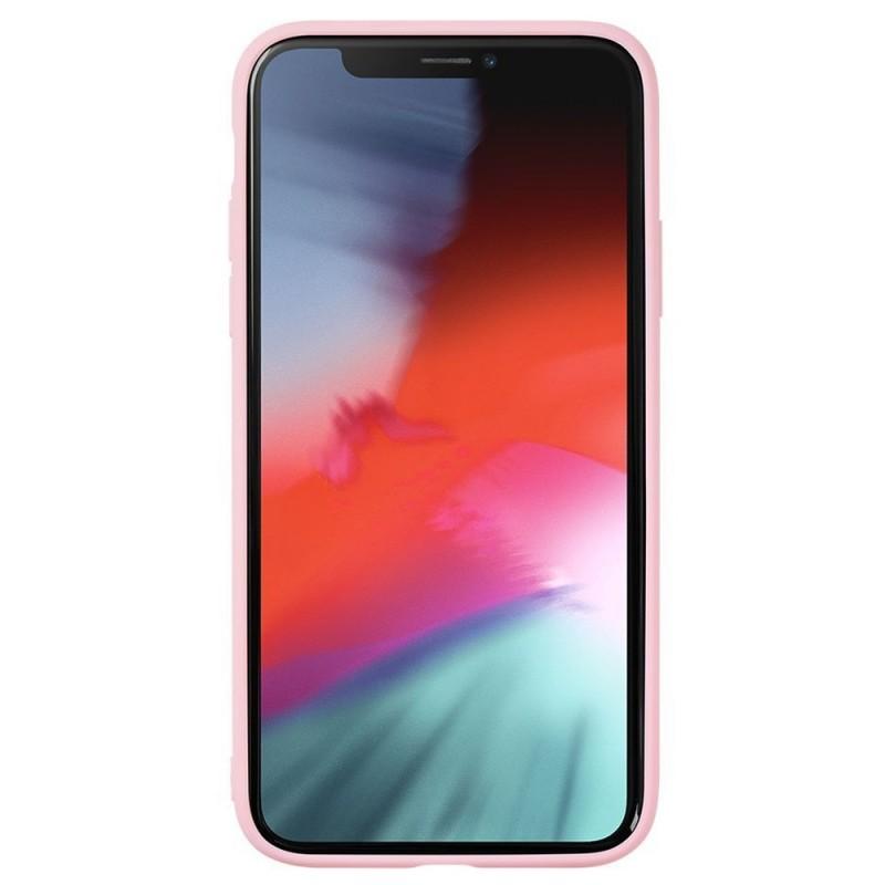 LAUT Mineral Glass Case iPhone XR Roze 02