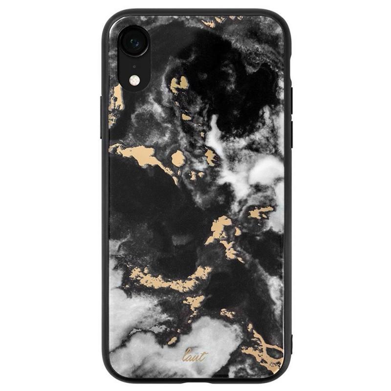 LAUT Mineral Glass Case iPhone XR Zwart 03