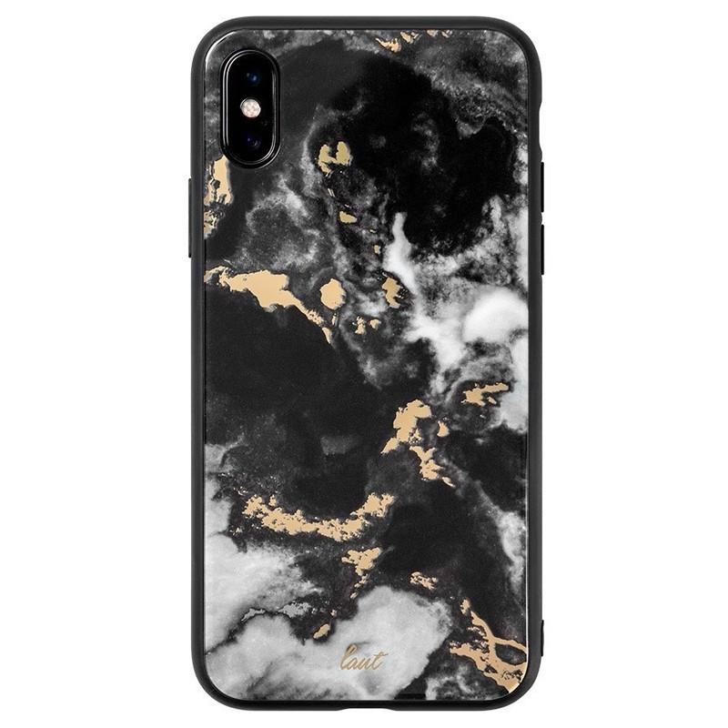 LAUT Mineral Glass iPhone XS Max Case Zwart 03