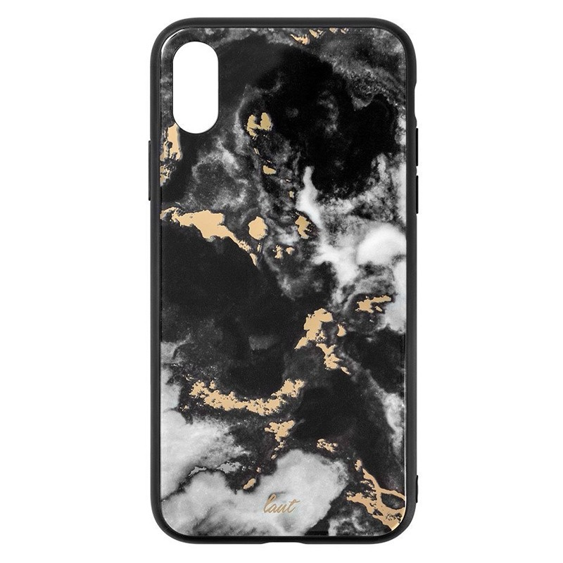 LAUT Mineral Glass iPhone XS Max Case Zwart 04