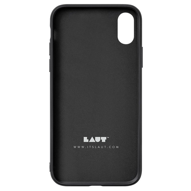 LAUT Mineral Glass iPhone XS Max Case Zwart 05