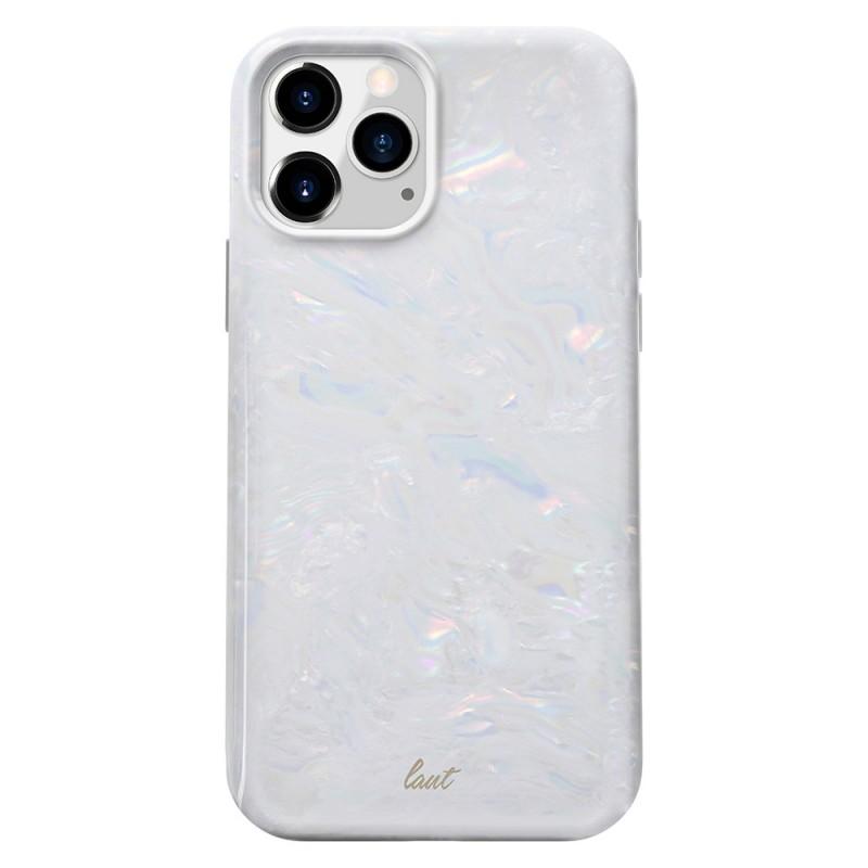LAUT Pearl Case iPhone 12 Mini Wit - 1