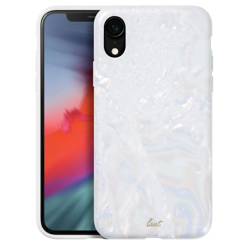 LAUT Pearl Case iPhone XR Wit 01