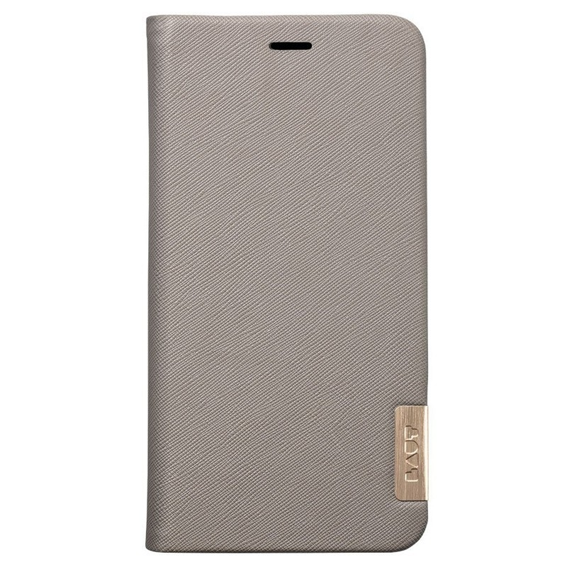LAUT Prestige Folio iPhone XS Max Wallet Taupe 04