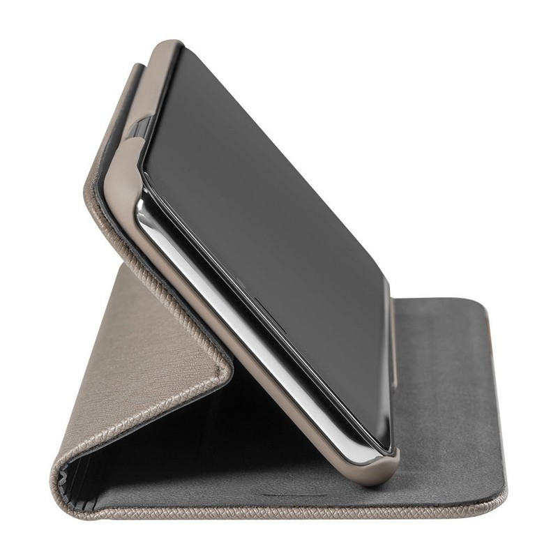LAUT Prestige Folio iPhone XS Max Wallet Taupe 05