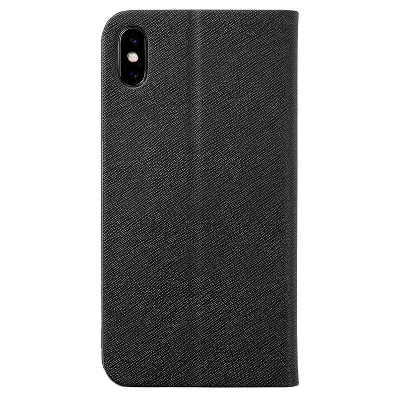 LAUT Prestige Folio iPhone XS Max Wallet Zwart 02
