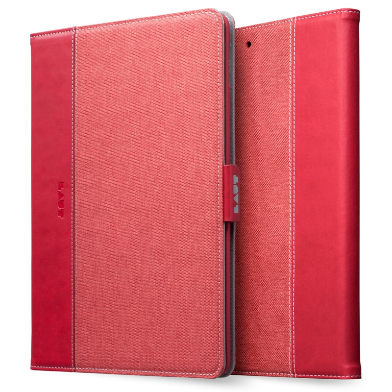 LAUT - Profolio iPad 9,7 inch 2017 Red 01