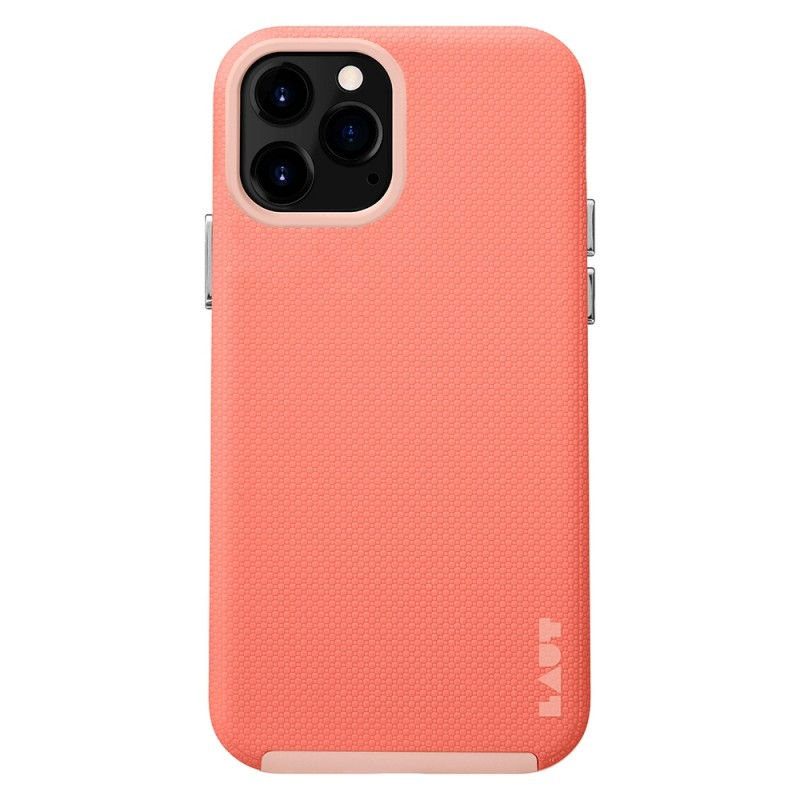 LAUT Shield iPhone 12 / iPhone 12 Pro 6.1 Coral Pink - 1