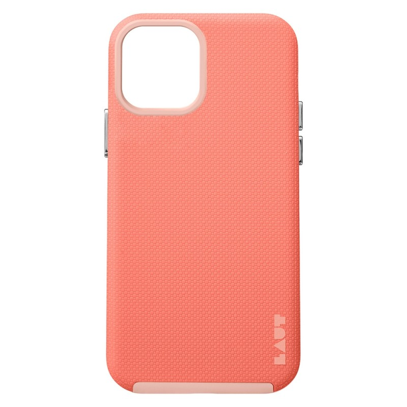 LAUT Shield iPhone 12 / iPhone 12 Pro 6.1 Coral Pink - 2
