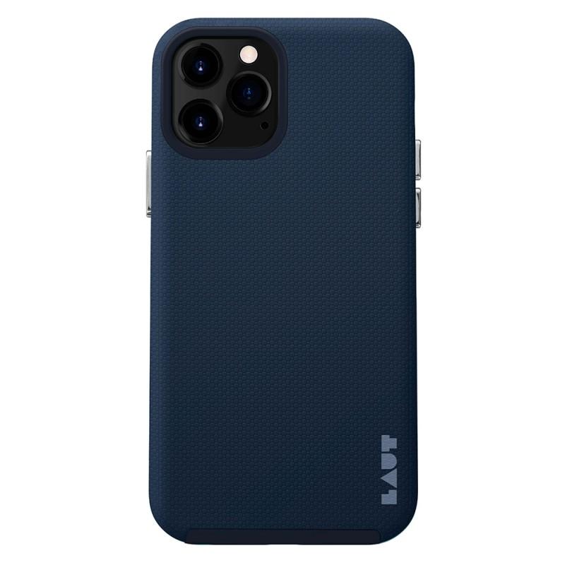 LAUT Shield Case iPhone 12 Pro Max Blauw - 1