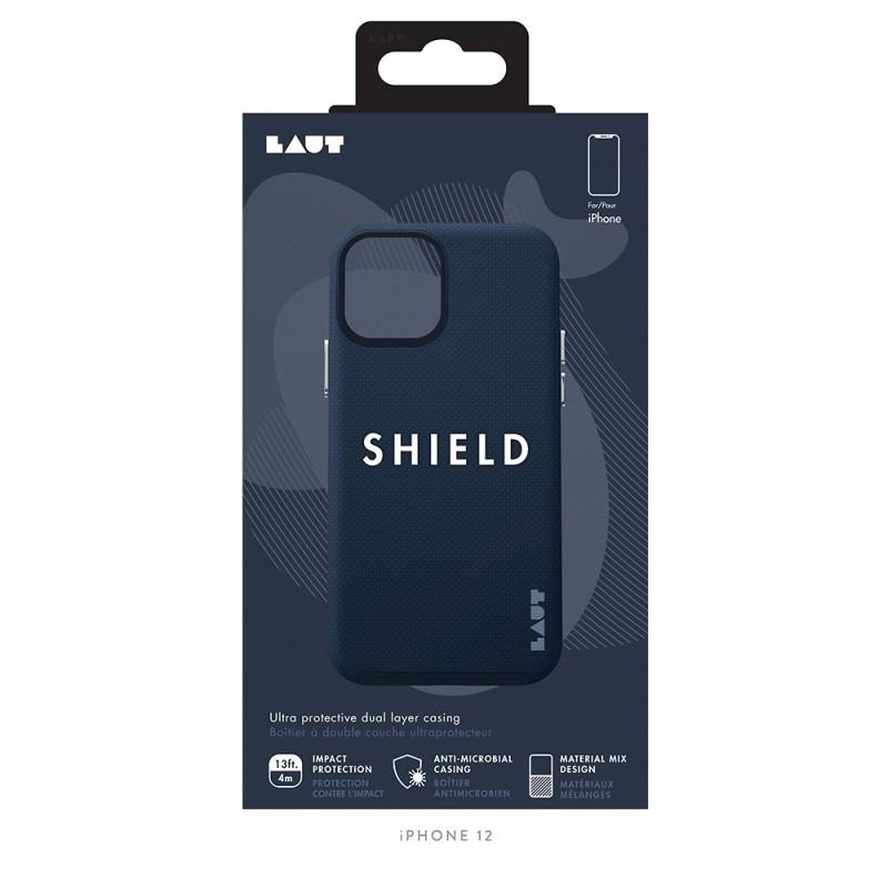 LAUT Shield Case iPhone 12 Pro Max Blauw - 2